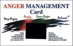 Anger Management Cards