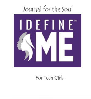 I Define Me Teen Girl Journal
