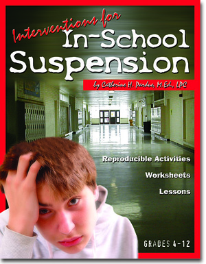 Interventions for In-School Suspension Book with CD by Catherine Pardue