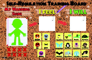 Self-Regulation Training Board by Brad Chapin