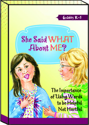 She Said What About Me? Card Game by Karen Dean