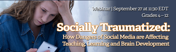 Instagram's Impact: Trauma & Social Media Webinar Sept. 27