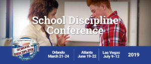 2019 School Discipline Lineups Announced!