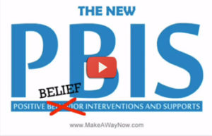 The New PBIS – Beliefs Lead to Behavior: Hotep Benzo