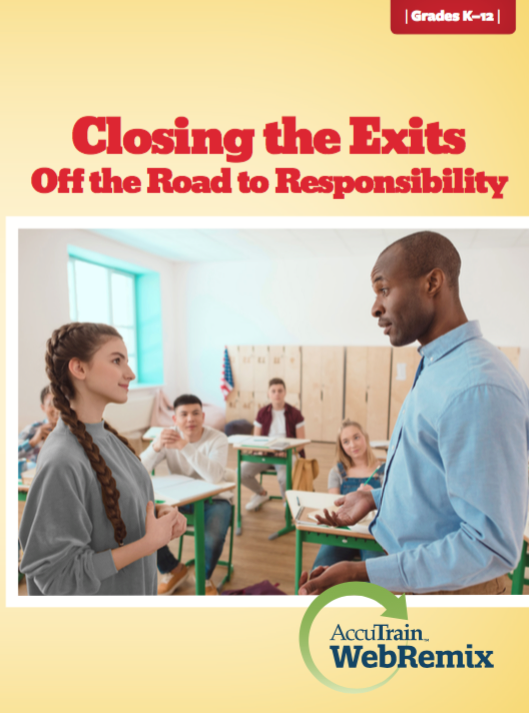 closing the exits off the road to responsibility webremix
