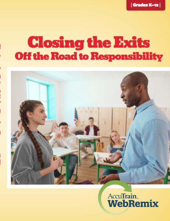 closing the exits off the road to responsibility webremix