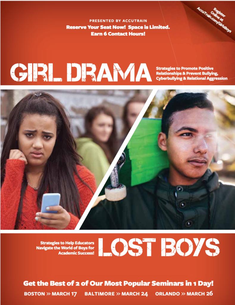 girl drama lost boys seminar 2020