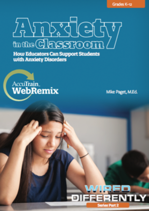 anxiety in the classroom webremix