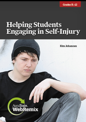 helping students engaging in self injury